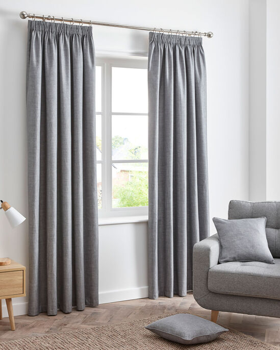 Essence Blackout Pencil Pleat Curtains