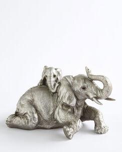 Elephant and Calf Ornament