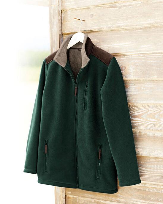 Sherpa Fleece Bonded Jacket