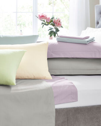 200 Thread Count Cotton Percale Fitted Sheet