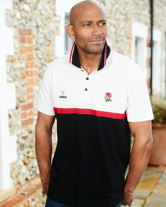Guinness™ England Short Sleeve Classic Polo Shirt