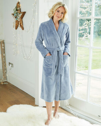 Blissfully Soft Wrap Dressing Gown