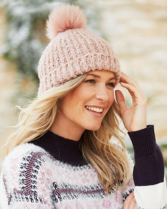 Soft Pom Pom Hat