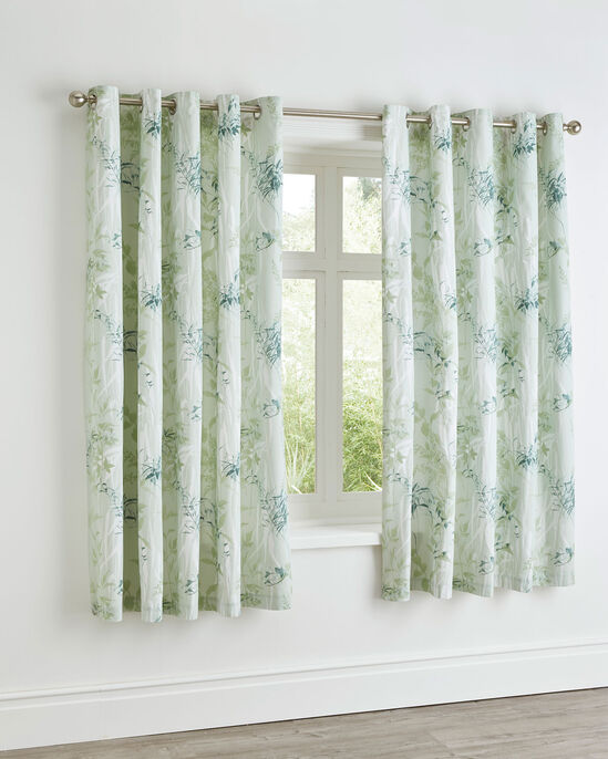Tranquility Cotton Eyelet Curtains
