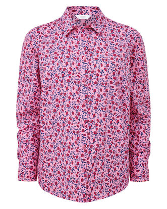 Pink Rose Wrinkle Free Long Sleeve Shirt