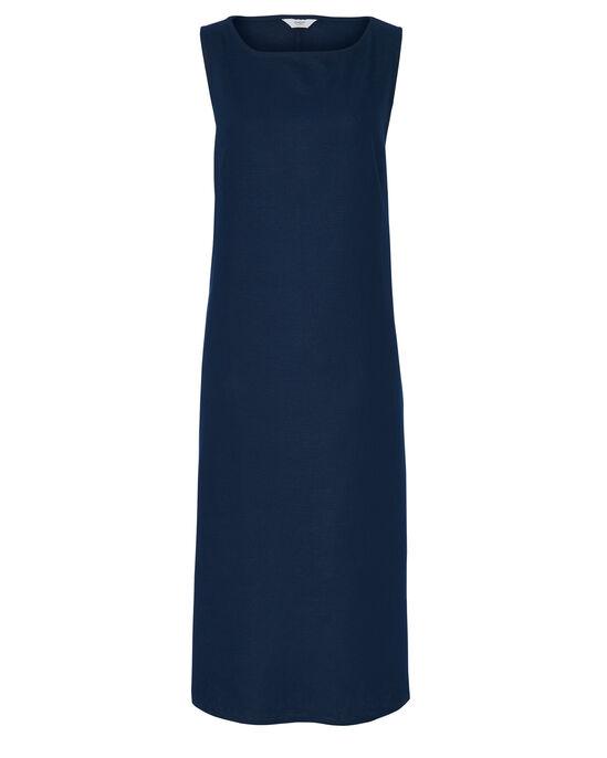 Cotton Linen-Blend Dress