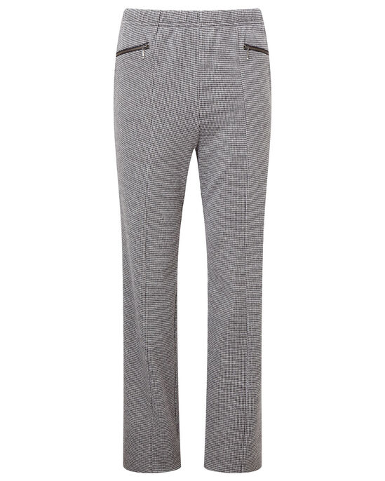 Jersey Tweed Tummy Control Trousers