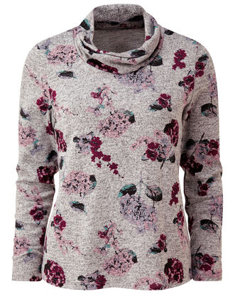 Floral Soft Touch Top