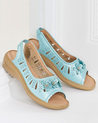 Ladies' Flexisole Flower Sandals