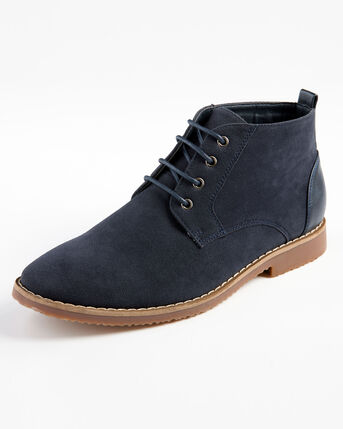 Lace-Up Desert Boots