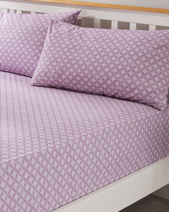 Ella Fitted Sheet and Pillowcase Set