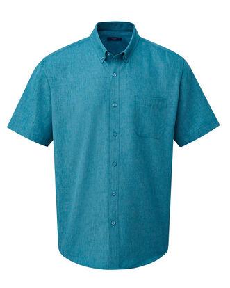 Light Teal Short Sleeve Soft Touch Shirt