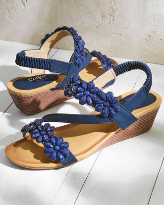 Jewel Flower Sandals