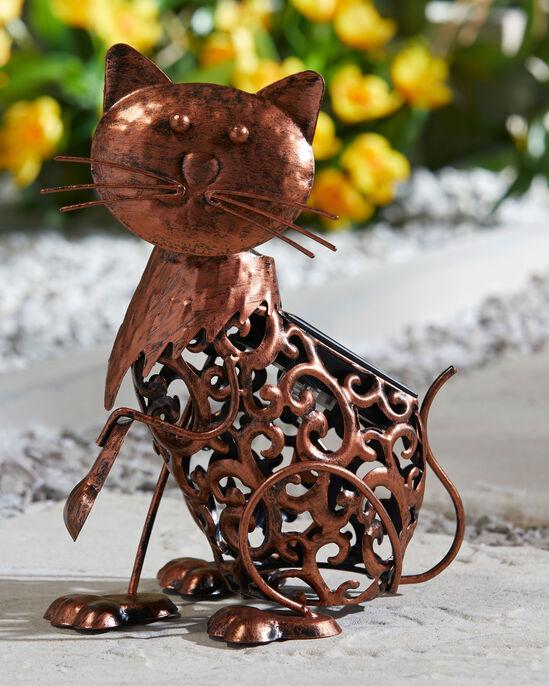 Solar Cat Ornament