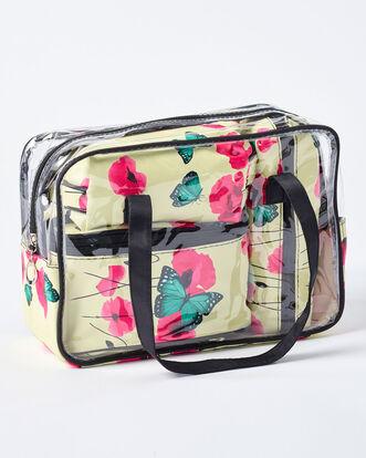 4 Piece Ladies Toiletry Bag Set