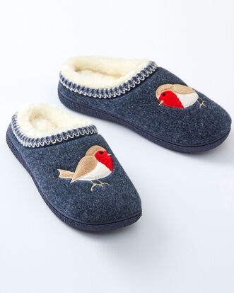 Robin Mule Slippers