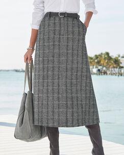 Side Elasticated Waist Skirt