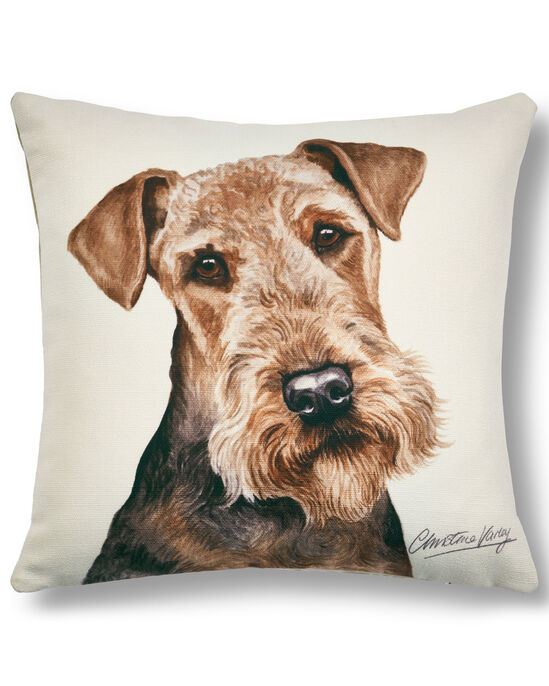 Waggy Dogz Airedale Terrier Cushion
