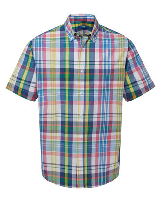 Multi Short Sleeve Check Shirt