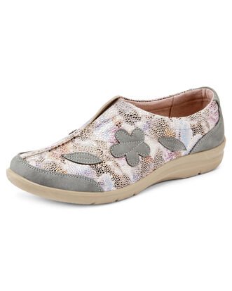 Flexisole Slip-on Floral Print Shoes