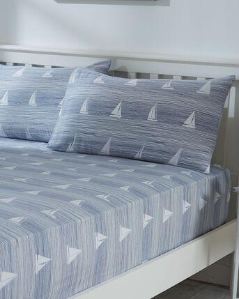 Nautical Stripe Sheet and Pillowcase Set
