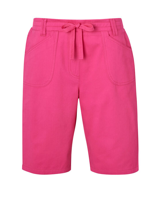 Wrinkle Free Pull-On Shorts
