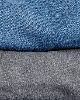 Jersey Denim Skirt
