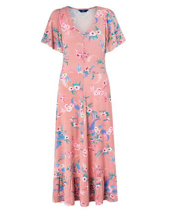 Frill Jersey Dress