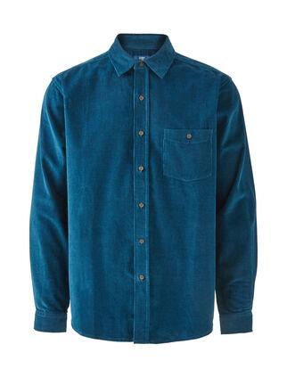 Mocha Long Sleeve Cord Shirt