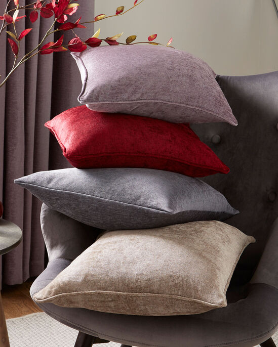 Luxury Chenille Filled Cushion