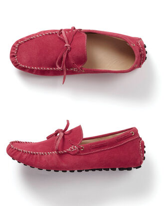 Suede Driving Loafer
