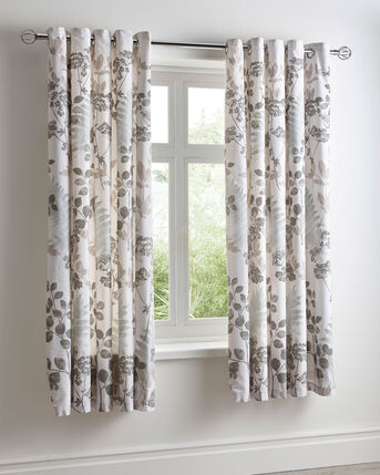 Richmond Eyelet Curtains 66X72""