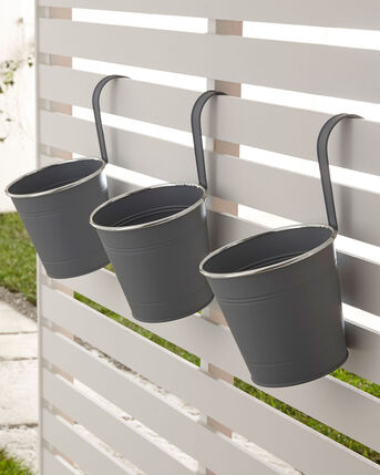 Pack of 3 Hanging Pots