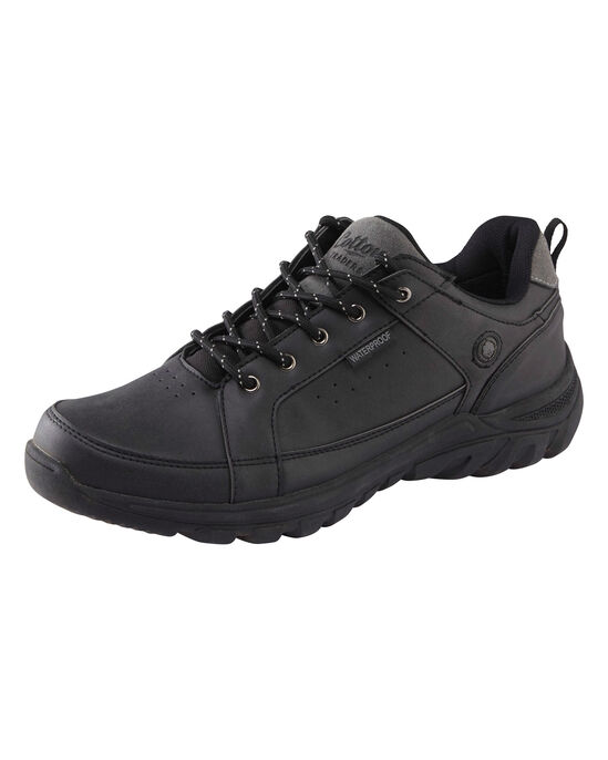 Waterproof Lace-up Walking Shoes