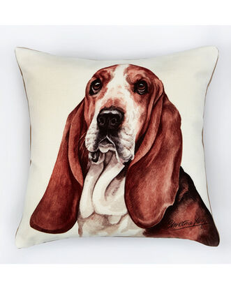 Waggy Dogz Basset Hound Cushion