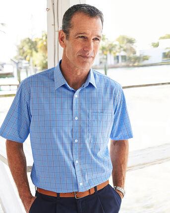 Short Sleeve Wrinkle Free Shirt