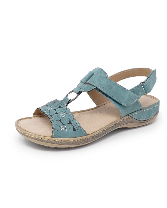 Floral Adjustable Sandals