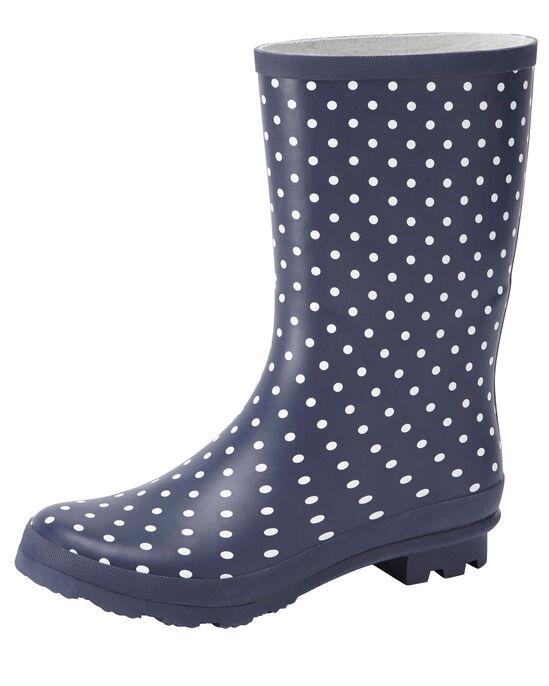 Mid Calf Wellington Boots