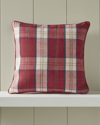 Highland Check Cushion