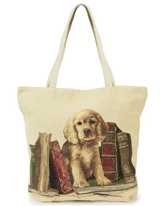Embroidered Shopper Bag