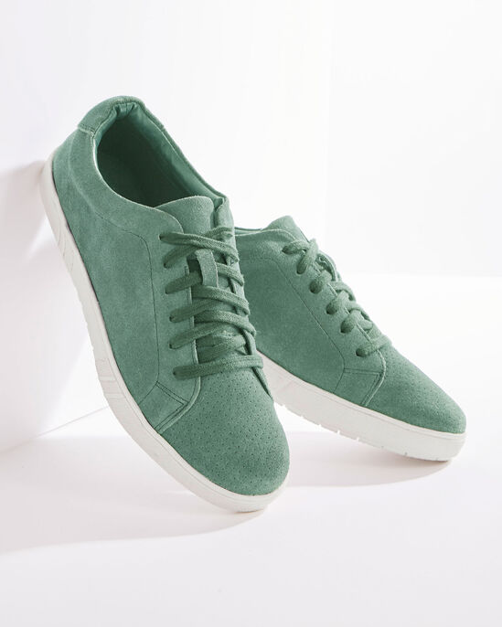 Suede Lace-up Shoes