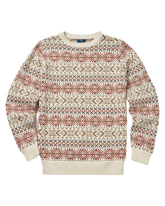 Fair Isle Crew Neck Jumper