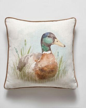 Watercolour Duck Cushion
