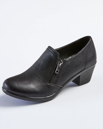 Heeled Zip Trouser Shoes