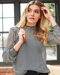 Oh-So-Pretty Two Piece Blouse
