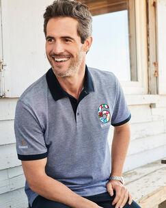 Guinness® Short Sleeve 6 Nations Birdseye Polo Shirt