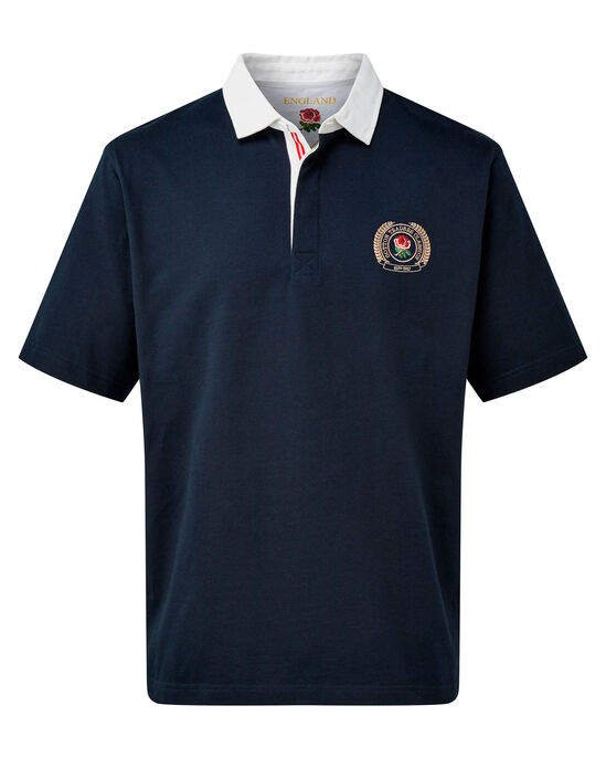 Short Sleeve England Rugby Shirt