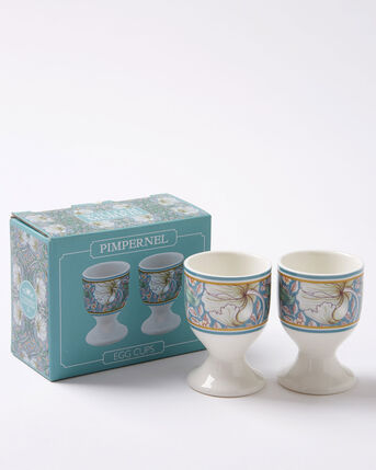 Set of 2 William Morris Pimpernel Egg Cups