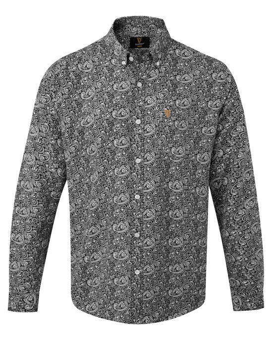 Guinness Long Sleeve Soft Touch Paisley Shirt
