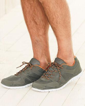 Mens Lightweight Flexi Comfort Trainers